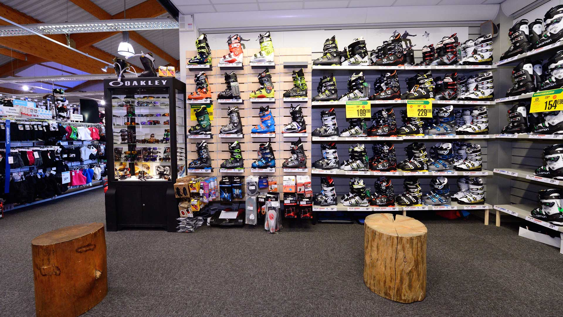 INTERSPORT Bourg-Saint-Maurice, rayon chaussures de ski