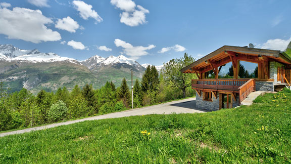 Location chalet Dahu Arc 1600