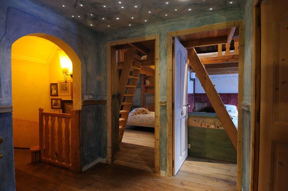 photo acces chambres val d isere