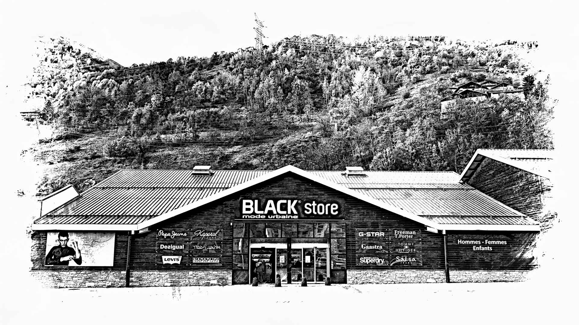 Magasin Black Store de Bourg-Saint-Maurice