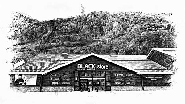 Magasin Black Store à Bourg-Saint-Maurice